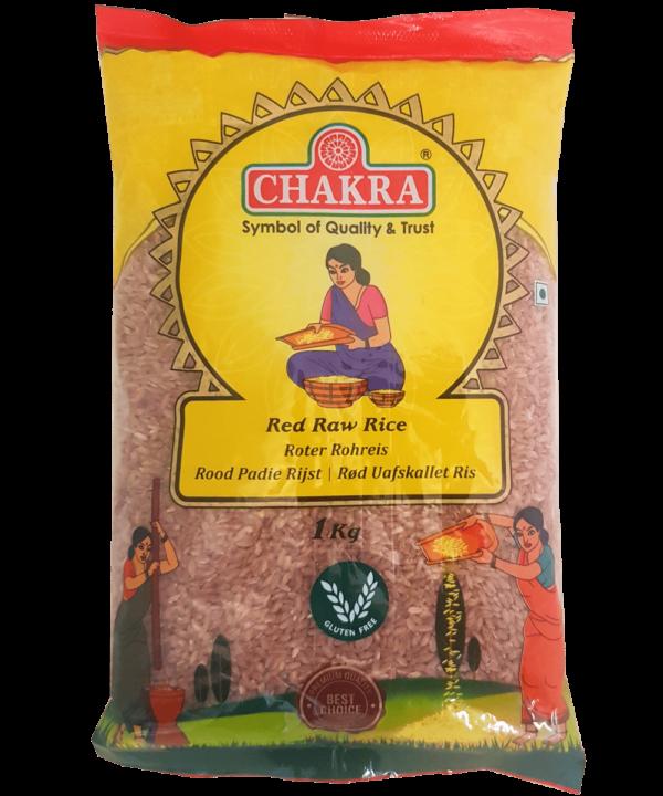 Chakra Rode Rijst Gepolijst - IndianFoodStore