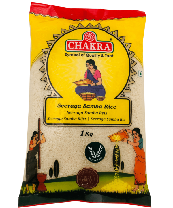 Chakra Seeraga Samba Rijst - IndianFoodStore