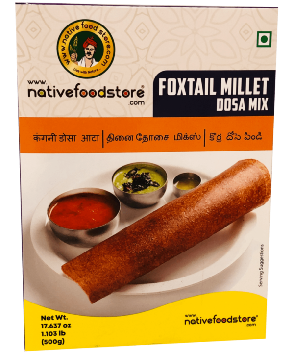 Vosstaartgierst Dosa Mix - Indian Food Store