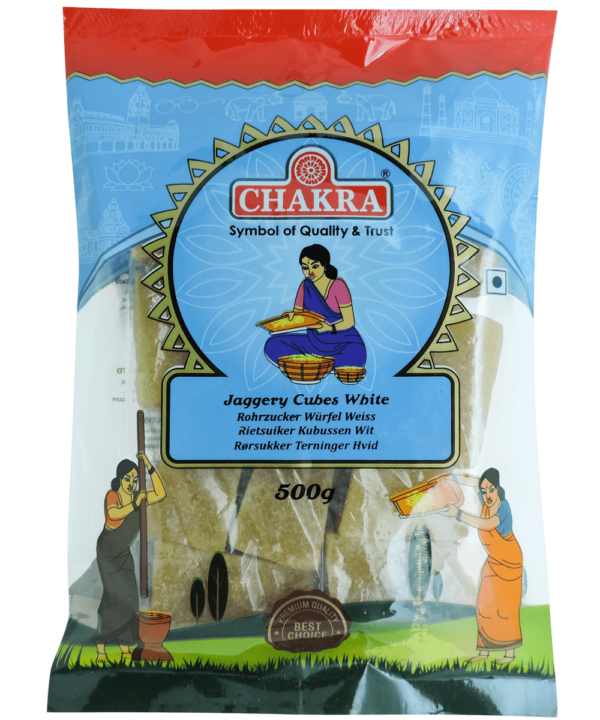 Chakra Jaggery Cubes - Indian Food Store