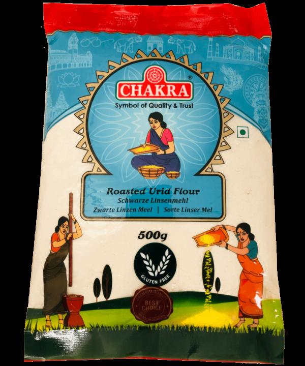 Chakra Roasted Urid Flour - IndianFoodStore