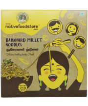 Native Food Barnyard Millet Noodles - IndianFoodStore