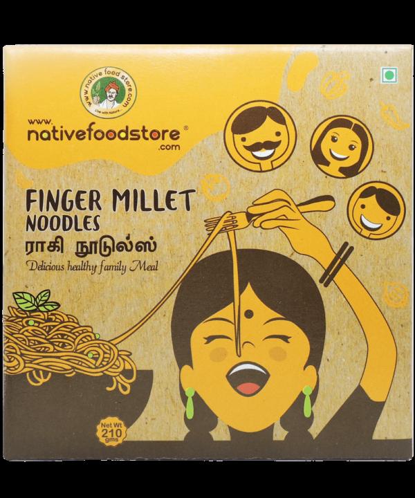 Native Food Finger Millet Noodles - IndianFoodStore
