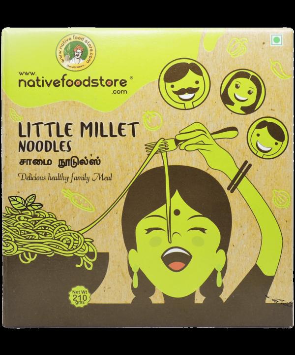 Native Food Little Millet Noodles - IndianFoodStore