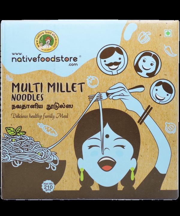 Native Food Multi Millet Noodles - IndianFoodStore