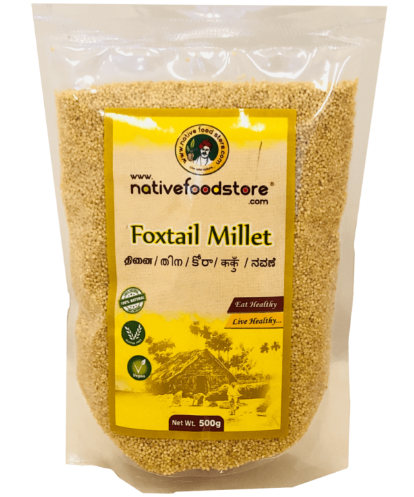 Native Food Foxtail Millet - Indian Food Store