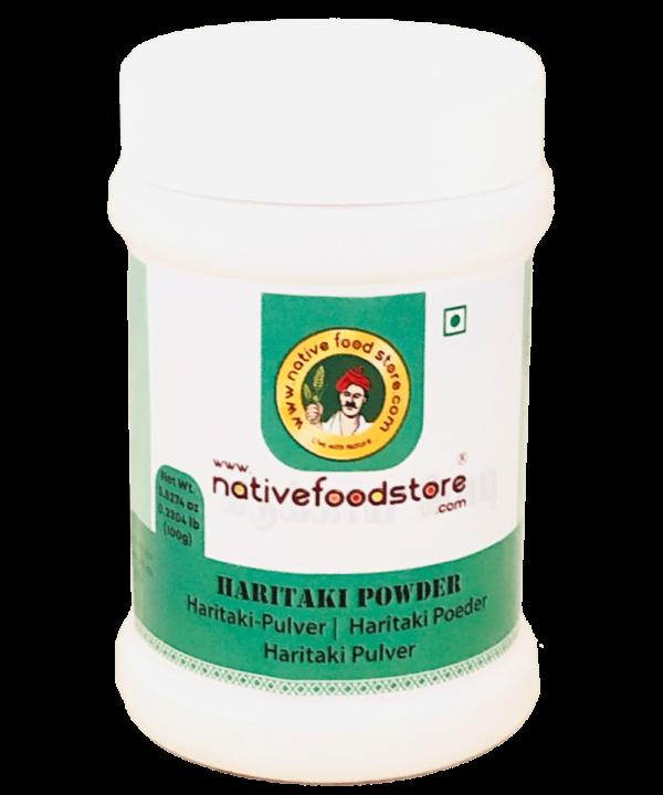 NativeFood Haritaki Powder - IndianFoodStore