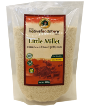 Native Food Little Millet - Indian Food Store