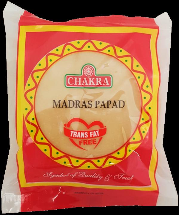 Chakra Plain Papad - Indian Food Store